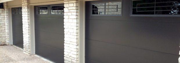 Metal Garage Door Construction Types